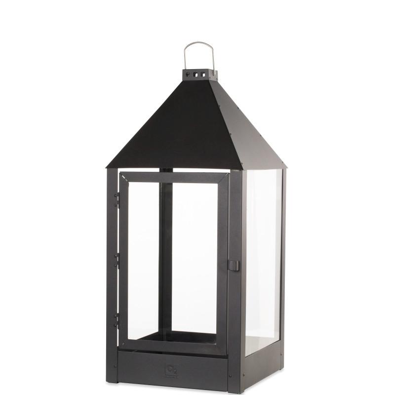 Lanterne MEGA / Sort 32x32x70 cm