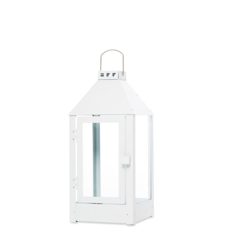 Lanterne MIDI / Hvid 19 x 19 x 42,5