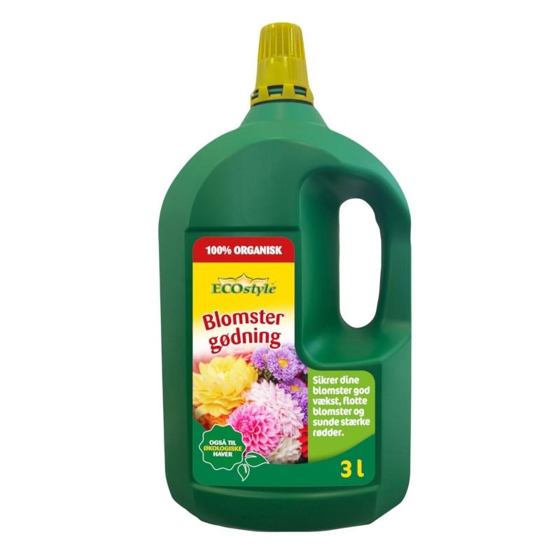 Blomstergødning 3 liter