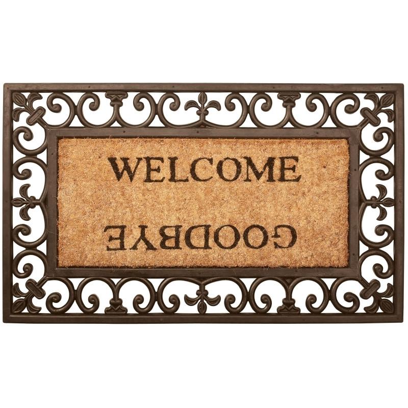 Welcome/goodby måtte. Rektangel (RB12/cl:6)