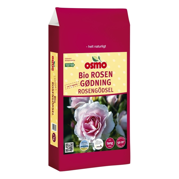 Osmo Bio Rosengødning 2 kg. 6-2-8 + 2 % mg