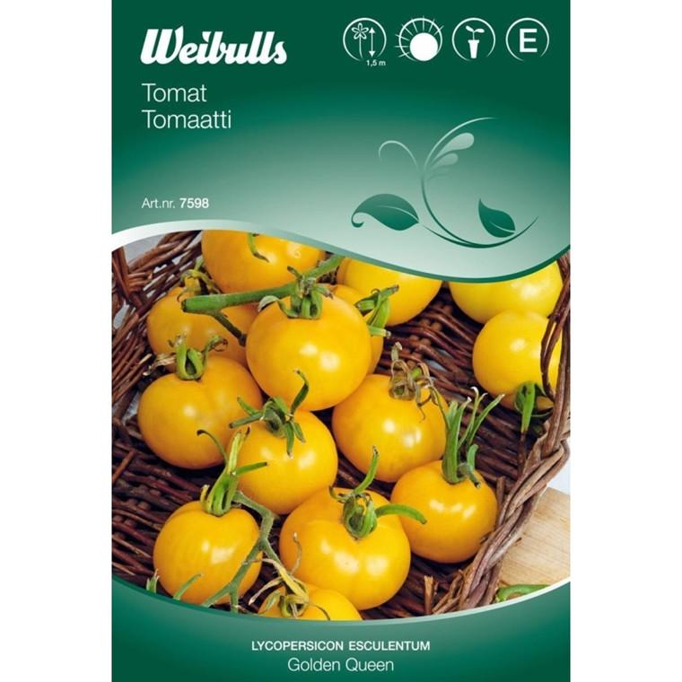Tomat - Lycopersicum esculentum - Golden Queen - Frø (W7594)