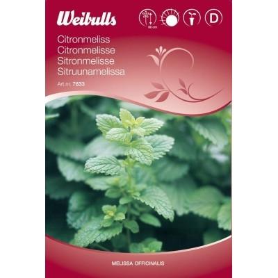 Citronmelisse - Melissa officinalis - Frø (W7633)