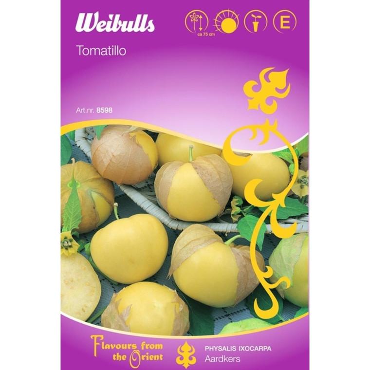 Tomatillo - Phusalis Ixocarpa - Ardkeers - ORIENTAL - Frø (W8598)