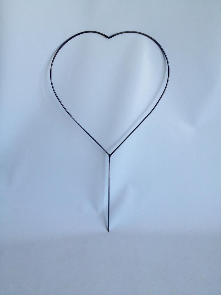 Mellem hjerte H-91cm, 6 mm rundjern