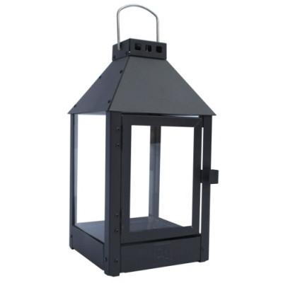 Lanterne MINI / Sort 17 x 17 x 35,5 cm