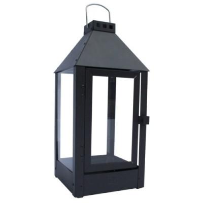 Lanterne MAXI / Sort 22,5 x 22,5 x 60 cm