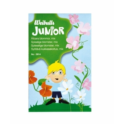 Weibulls Junior - Spiselige blomster, mix  (W3914)