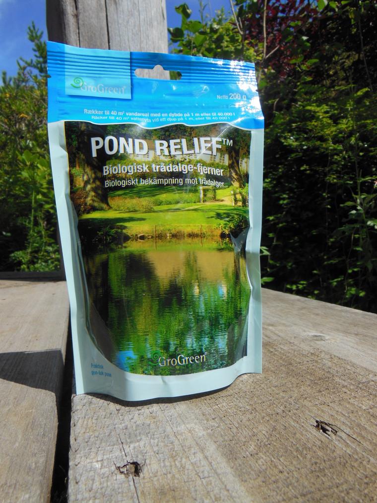Pond Relief TM Biologisk Trådalgefjerner - 200 gr. (os)