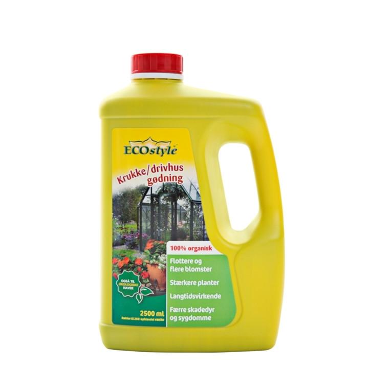Krukke- & Drivhusgødning 2,5 liter