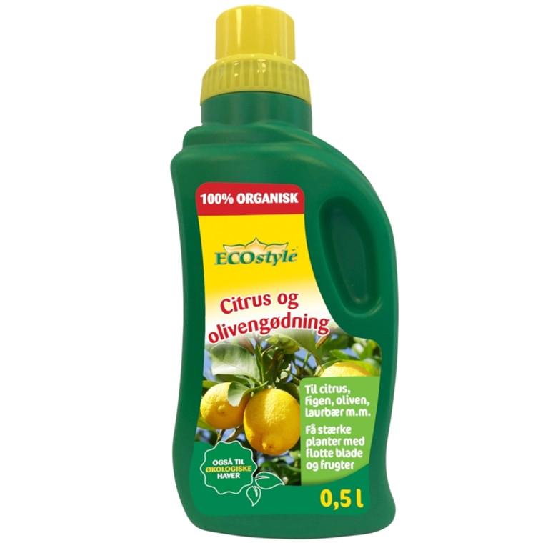 Citrus- og oliven gødning  500 ml