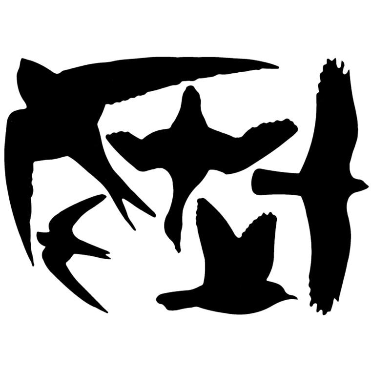 Fuglesilhouetter (FB9/cl:24)