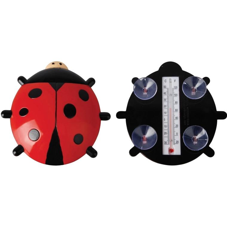 Termometer Vinduestermometer, Mariehøne (TH57)