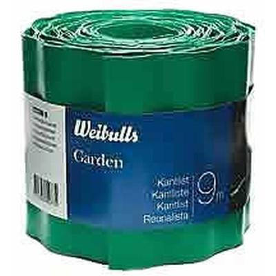 Græskantliste - Kantbånd i grøn plast Str.: 9m x 15 cm. (WB660077)