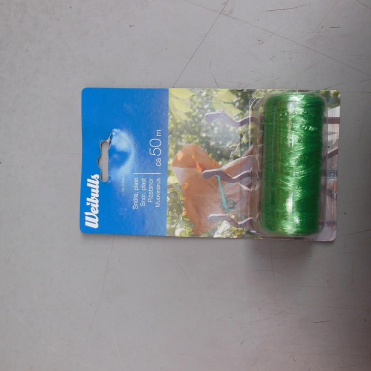 Weibulls grøn plast garn ca. 250 m grøn (WB670234)