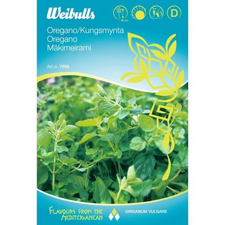 Oregano - Origanum vulgare - Frø (W7699)