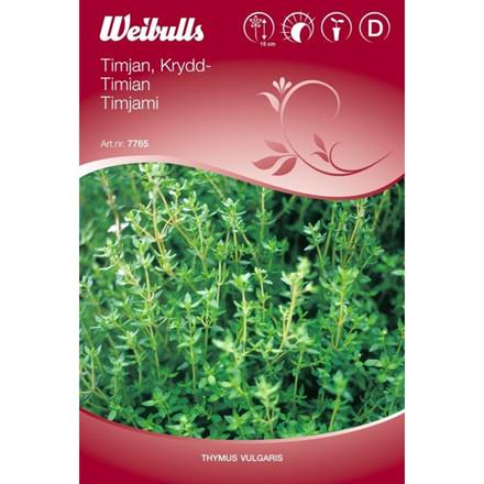 Timian - Thymus vulgaris - Frø (W7765)