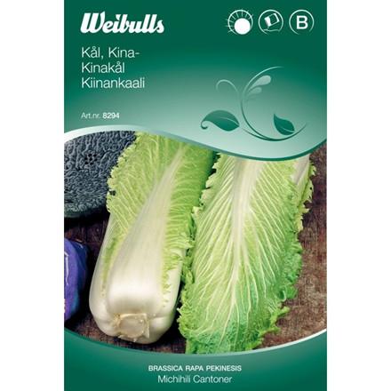 Kinakål - Brassica rapa pekinesis - Michihili Cantoner - Frø (W8295)