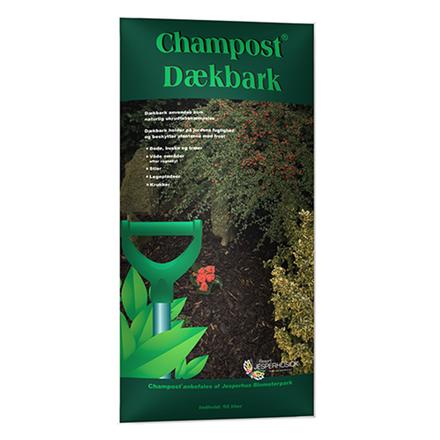 Champost Dækbark, 50 l.