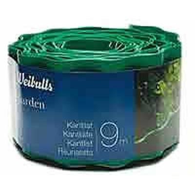 Græskantliste - Kantbånd i grøn plast Str.: 9m x 10 cm. (WB660076)