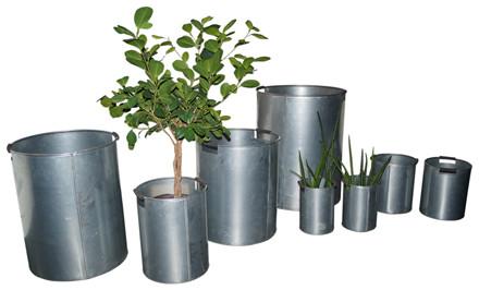 Plantespande 8 stk. fordelt på 6 forskellige størrelser
