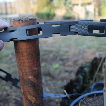 Opbindingspæl, linolieimprægnerede  L: 150 cm Ø: 5 cm