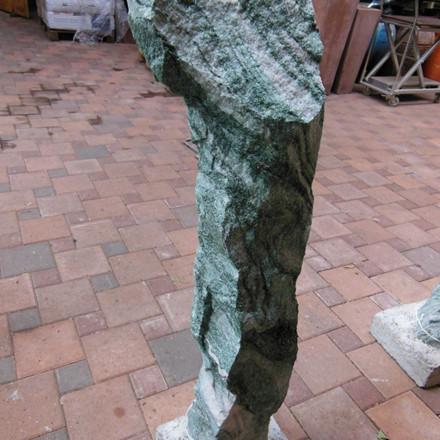 UNIK Søjlegranit fra Thy granit, grøn H 103 cm