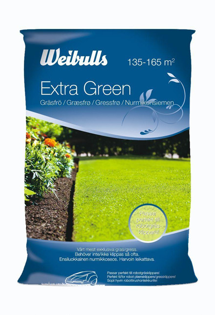 Weibulls Extra Green Græsfrø 3 kg. (W838049)
