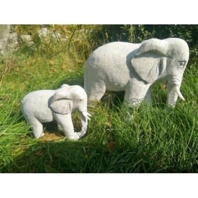 Elefant grå granit (Gr. 539)