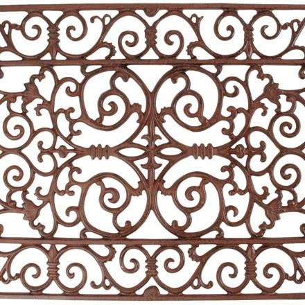 Dørrist støbejern, 45 x 70 cm (LH38/cl:2)