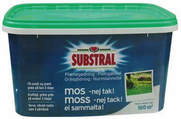 Substral Plænegødning. - 5 kg. (WB42095)