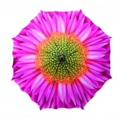 Paraply  med blomst. 103 x 103 x 84 cm