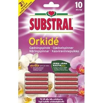 Substral Gødningspinde til Orkidéer 10 stk (10,5-4,7-8,4) WB41919