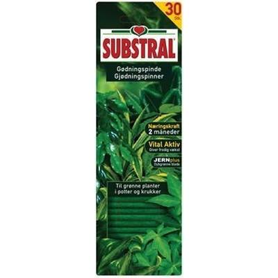 Substral gødningspinde til grønne planter 30 stk. (10-2-7) (WB41960)