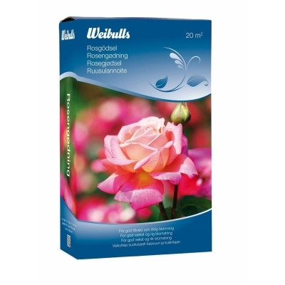 Weibulls Rosengødning 0,8 kg. (W5410)