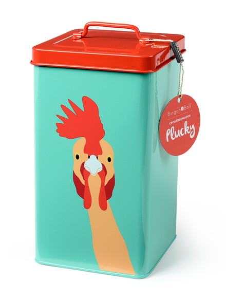 Luksus boks til hønse foder. Burgon & Ball UK(GCR/Hen)