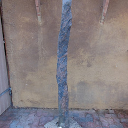 UNIK Søjlegranit fra Thy granit H 175 cm