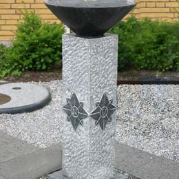 Solur/kompas/regnvandmåler (Gr. 386)