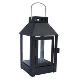 Lanterne MICRO / Sort 12,5 x 12,5 x 25 cm