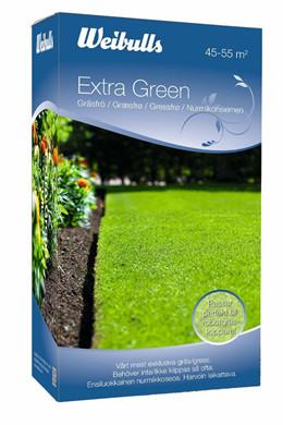 Weibulls Extra Green Græsfrø 1 kg. (W838045)