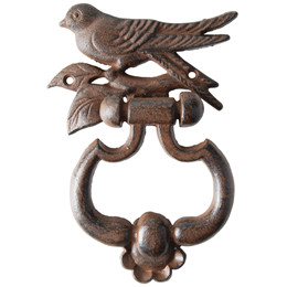 Dørhammer med fuglesilhuet (BR15/cl:12)