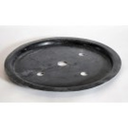 Polyesterlåg til 65 l spand ø60 cm.