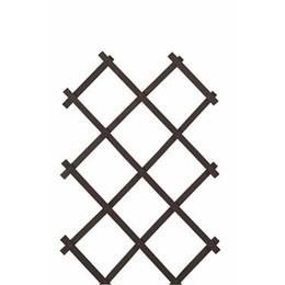 Træ-espalier 90x200 cm. Sort (WB666084)