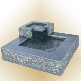 Vandspil Tiffany mørkegrå granit