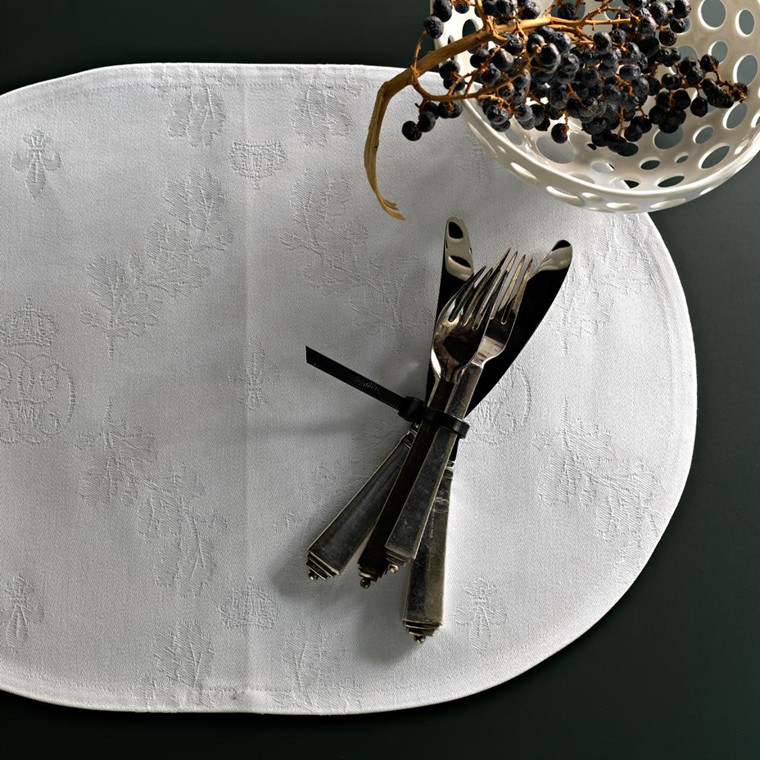 10 ses Placemat  - White