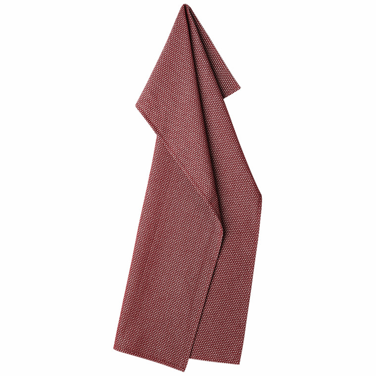EGYPT kitchen towels Deep Red