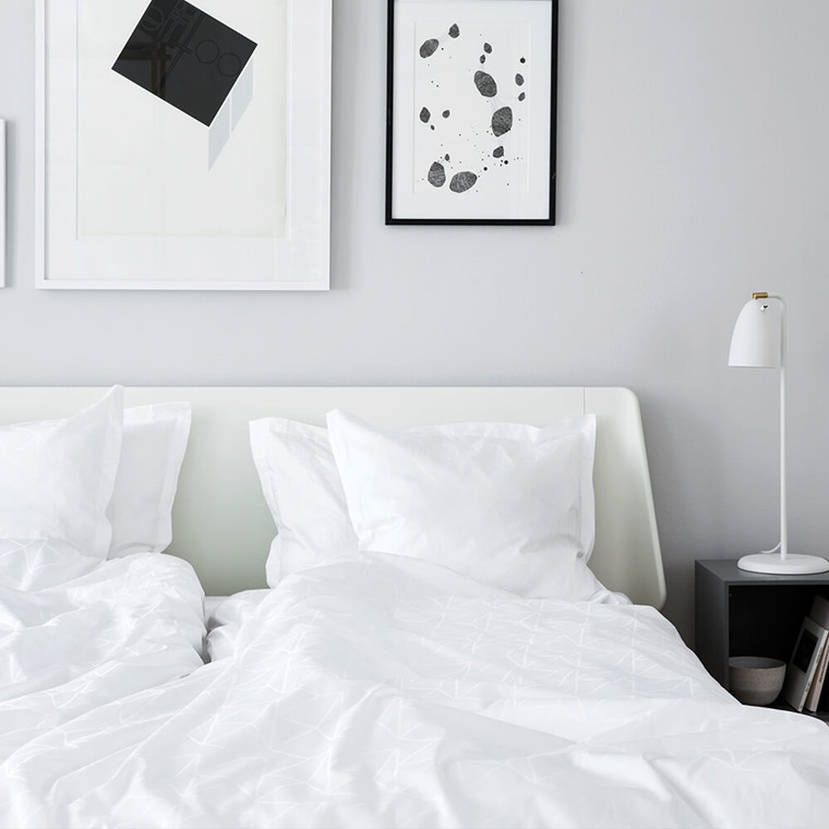 ARNE JACOBSEN bed linen White