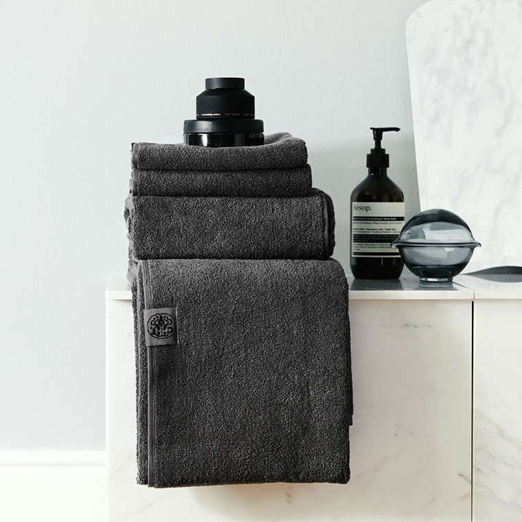 BLACK LABEL BADEHÅNDKLÆR  Slate
