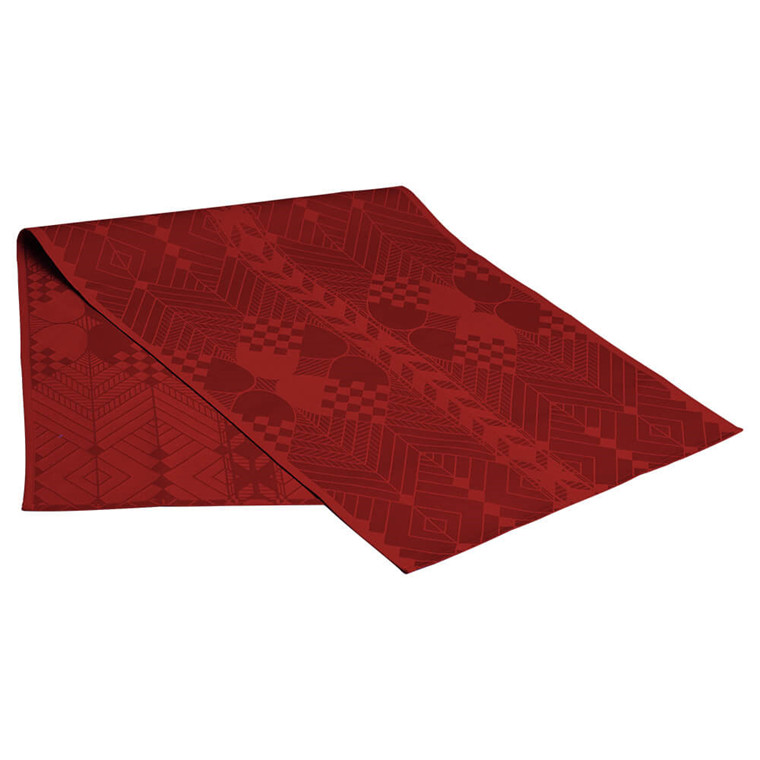 CHRISTMAS table runners Deep Red