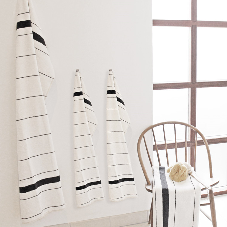 STRIPE FROTTEE Handtuch